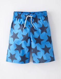 Ich habe das auf @BodenDirect entdeckt. Schwimmshorts für Jungs Blau Sterne