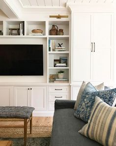 Built-Ins with Blue