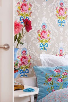 Discover the Pip Studio Melody Duvet Set Blue - King at Amara | casa ...