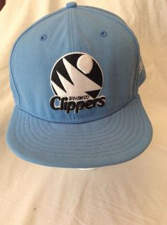 f1a409d612d New Era 59Fifty 5950 Hat - SAN DIEGO CLIPPERS - Blue - 8 Ball Cap  fashion   clothing  shoes  accessories  mensaccessories  hats (ebay link)