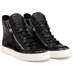 Sneakers - Sneakers Giuseppe Zanotti Design Men on Giuseppe Zanotti Design Online Store @@NATION@@ - Spring-Summer collection for men and women. Worldwide delivery. 