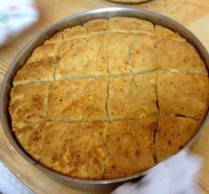 Δοκιμάστε τη παραδοσιακή φλαγούνα Quiche, Food And Drink, Pizza, Sweets, Cheese, Cooking, Desserts, Recipes, Kitchen