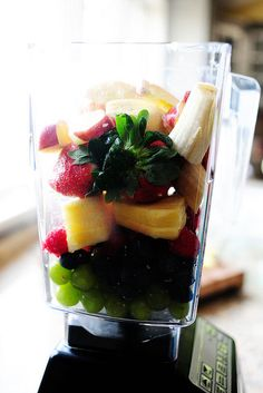 Smoothies for Breakfast-from PIONEER WOMAN- she has some of the easiest, simplest, yummiest recipes out there... ♥