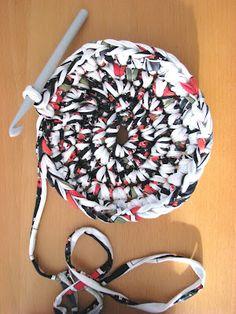 Lady Crochet: Cesto de trapillo