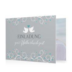 Hochzeitseinladung Taubenherz in Meergruen - Doppelklappkarte flach gewickelt #Hochzeit #Hochzeitskarten #Einladung #elegant #Foto #kreativ #modern https://www.goldbek.de/hochzeit/hochzeitskarten/einladung/hochzeitseinladung-taubenherz?color=meergruen&design=46473&utm_campaign=autoproducts