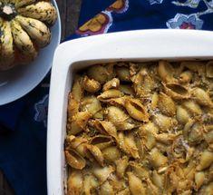 Pumpkin & Ricotta Pasta Casserole