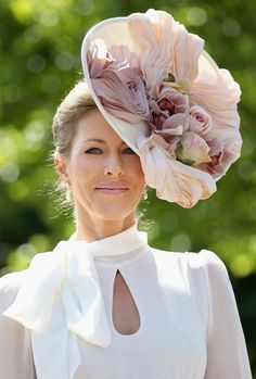 Royal Ascot fashion. #millinery #judithm #hats This is so lush it is almost heartbreaking to me.