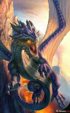 Dit is de draak Smaug die een grote schat bezit in een berg. Bilbo, de dwergen en Gandalf willen de schat dus ze moeten eerst de draak vermoorden of wegjagen uit de berg.