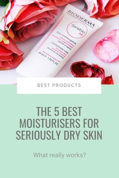 If your skin's naturally dry, prone to sensitivities, or subject to excess exfoliation, finding a moisturiser that gets the job done feels like looking for that elusive needle in a haystack. Fret not, here are the best moisturiser for seriously dry skin (no matter the cause)... #dryskin #sensitiveskin #bestproducts Best Skincare Products, Bioderma Products, Beauty Products, Good Sunscreen For Face, Best Vitamin C, Sensitive Skin Care, Moisturizer For Dry Skin, How To Get Rid Of Acne, Acne Skin