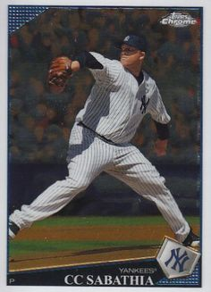 2009 Topps Chrome 49 CC Sabathia - New York Yankees (Baseball Cards) -- This is an Amazon Affiliate link. Learn more by visiting the image link.