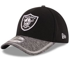 976f615714a Oakland Raiders New Era 39Thirty NFL Training Shadow Tech M L Flexfit Cap  Hat