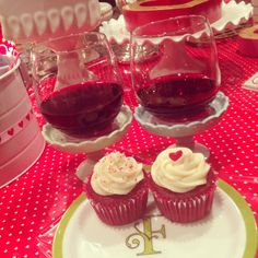Cheers to LOVE day and cupcakes