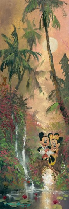 """""""Tropical Twosome"""" by James Coleman 