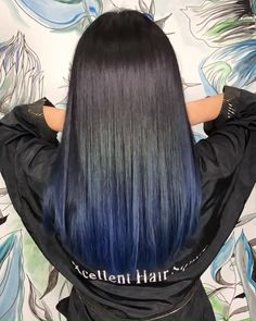 hair This text options data on ten flowering panorama timber and shrubs that brighten our spring sea Dark Blue Hair, Hair Color Purple, Hair Color For Black Hair, Brown Hair With Blue, Midnight Blue Hair Dye, Blue Black Hair Dye, Black And Green Hair, Blue Ombre, Blue Dip Dye Hair