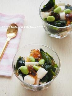 かんたん!長芋とわかめの麺つゆジュレサラダ by 河埜 玲子 「写真がきれい」×「つくりやすい」×「美味しい」お料理と出会えるレシピサイト「Nadia | ナディア」プロの料理を無料で検索。実用的な節約簡単レシピからおもてなしレシピまで。有名レシピブロガーの料理動画も満載!お気に入りのレシピが保存できるSNS。