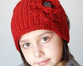 Trendy Headwrap Crochet Pattern (Permission to sell all finished products). $4.99, via Etsy.