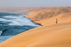 いいね!504千件、コメント2,084件 ― National Geographicさん(@natgeo)のInstagramアカウント: 「Photo by @FransLanting Towering sand dunes roll down to the South Atlantic Ocean along the wild…」