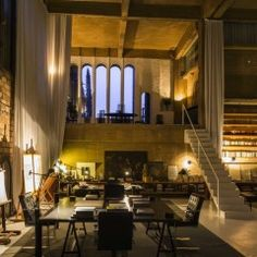 Man Turns Empty Cement Factory Into the Most Magical Home