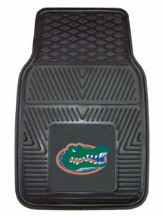 FANMATS 8745 University of Florida Gators Front Heavy Duty Vinyl Car Mat - 2 Pieces by Fanmats. $19.48. Universal fit for cars, trucks and SUVs (16.75-inch x 26.75-inch). Available in all NFL, MLB, NBA and top NCAA teams. Premium all-weather floor protection. Raised outer rim and multi-level channels. Constructed from 100 percent heavy duty vinyl. Don't leave your school spirit at home; take it on the road with the NCAA® heavy-duty vinyl car mats from Fanmats®. Each mat in ...