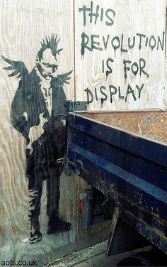 Revolution, Banksy