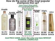Ava Anderson Non-Toxic Shampoo www.avabyjean.com