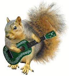 There is not actually a guitar there, that was photoshopped on !! He was playing with his NUTS and Pinterest censored it