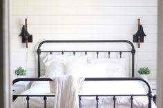 A farmhouse bedroom makeover Farmhouse on Boone
