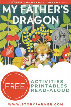 FREE My Father's Dragon Activities and Printables - Story Farmer Free Activities, Classroom Activities, Adventure Stories For Kids, My Fathers Dragon, Make A Paper Boat, Kindergarten Prep, Preschool Colors, Read Aloud Books, Dragon Crafts