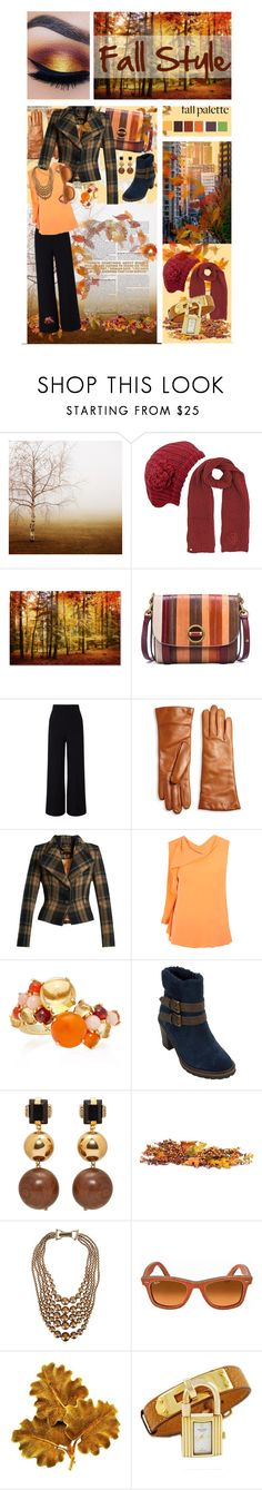 """Falling for Fall Fashion"" by pillowyartiste ❤ liked on Polyvore featuring Tory Burch, Roland Mouret, Saks Fifth Avenue Collection, Vivienne Westwood Anglomania, Roksanda Ilincic, Daria de Koning, White Mountain, Marni, George J. Love and Ray-Ban"