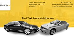 Travel with #Best #Taxi #Service in #Melbourne. Book your rides by Book@silverservice24x7.com and visit at www.silverservice24x7.com