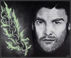 Bronn Blackwater (art by Anastasia Robozeeva)
