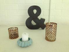 Decoration on fireplace