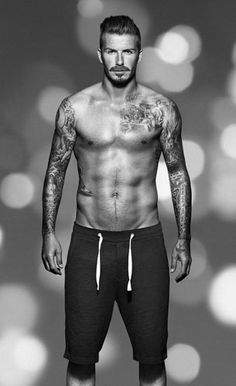 David Beckham shows off his new bodywear collection for H - hellomagazine.com
