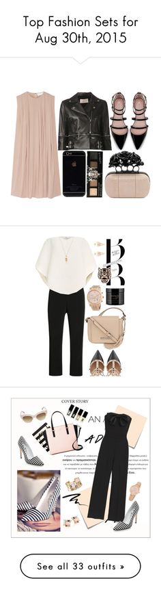 """""""Top Fashion Sets for Aug 30th, 2015"""" by polyvore ❤ liked on Polyvore featuring Christopher Kane, Zara, Alexander McQueen, Delpozo, Martin Grant, Valentino, Kenneth Cole, Michael Kors, Kenzo and philosophy"""
