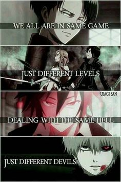 Anime: Attack on titan Sword art online No game no life Tokyo ghoul (c)owner