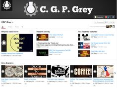 CGP Grey - Complex Things Explained. It Hurts, Language, Mindfulness, Activities, Math, Grey, Videos, Youtube, Mathematics