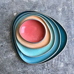 Myrto Zirini - Ceramic Art Corfu - Home Art projects Ceramic Tableware, Porcelain Ceramics, Fine Porcelain, Painted Porcelain, Ceramic Bowls, Kitchenware, Pottery Plates, Ceramic Pottery, Pottery Art