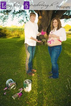 Maternity- cute way to say boy or girl.... Really? This guy looks absolutely thrilled he's having a baby. Safe to say, this one is going to be filed under, Bad Maternity Photo Sesh. BWAHAHA