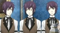 Black Butler- Triplets: Thompson, Timber, and Cantebury
