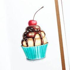 "Потянуло на сладкое  ""Медленная"" версия - на YouTube (ссылка в профиле) #v0lha_video #sketch #sketching #sketchbook #sketchdaily #скетчбук #скетч #artdaily #art #arts_help #instaart #topcreator #copic #markers #copicmarkers #process_of_creativity #worldofartists #copicsketch #copicart #leuchtturm1917 #process #v0lha_sketch #cupcakes"