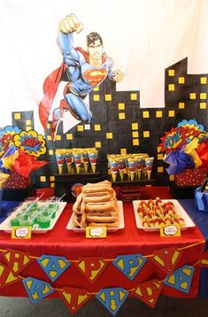 "Photo 26 of 53: Superhero / Birthday ""Gavin's Super 6th Birthday!"""