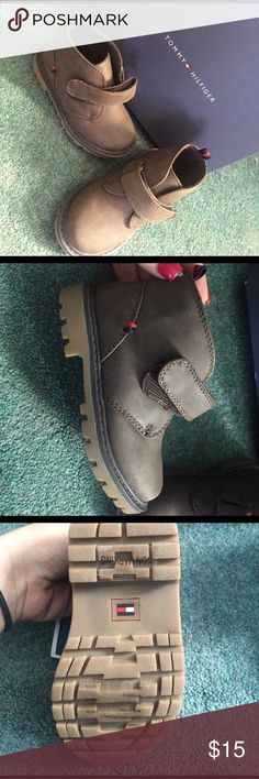 Tommy Hilfiger boots Brown toddler boots Tommy Hilfiger Shoes Boots