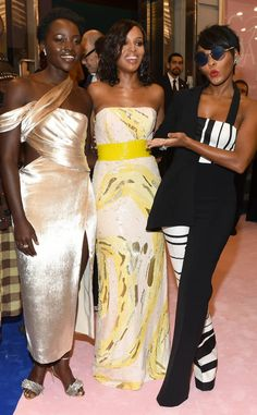 Lupita Nyong'o, Kerry Washington & Janelle Monae from The Big Picture: Today's Hot Photos  The beautiful trio have a blast while at the 2017 CFDA Fashion Awards.