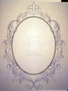 Filigree Frame Request Unfinished by ~KrisHanson on deviantART – bilderrahmen