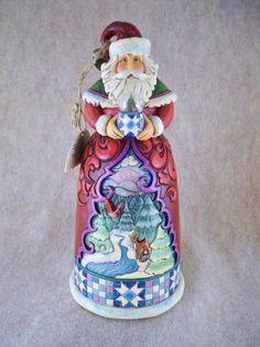 "Jim Shore ""The Nature of Christmas"" Santa Figurine Christmas Decor 2009 New | eBay"