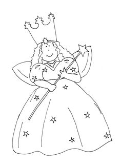 Free Dearie Dolls Digi Stamps: Good Witch