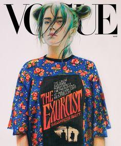 Billie Eilish's Vogue Cover: How the Singer Is Reinventing Pop Stardom | Vogue Billie Eilish, Divas, Louis Vuitton Dress, Teenage Drama, Harley Weir, Star Wars, Vogue Us, Vogue Covers, Vogue Magazine