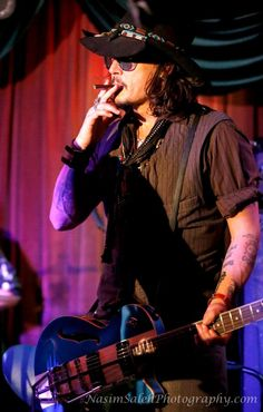 Johnny Depp-L.A. Bill Carter and The Blame