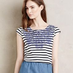 Anthropologie Tops - NWT Anthropologie Lace Collar Top Size Small