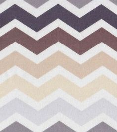Nursery Fabric- Owls Chevron Flannel (idea for Shawn's nursery)